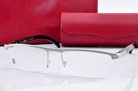 Brand 4567598 Half Rim glasses frame men and women eyewear  eyeglasses frame