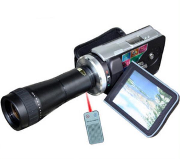 Best quality highet far shooting 12MP 70X optical zoom High clear digital camera far shooting digital vedio with remote control(China (Mainland))