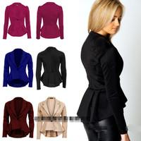 Hot Selling European Regular Fit Women's Casual Jackets Ladies Coat Large Size