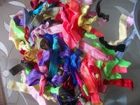 Free shipping 2014 fashionable woman hair accessory Silk cloth art knot hair bands giving girl gift diy hair accessories