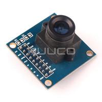 VGA Lens CMOS Camera Image Sensor Module OV7670 Microcontroller Collection Acquisition Module 640X480 for Arduino Robot # 200011