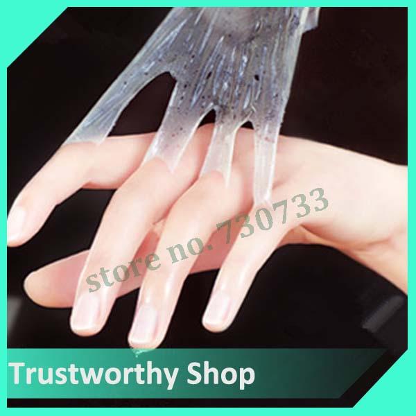 1pair=2pcs hand mask smoothing whitening moisturizing hand skin care moisturizing gloves(China (Mainland))