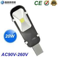 50pcs/lot Wholesale outdoor lighting high brightness 20W street lights led road lamp AC85-265V COB led street light