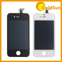 Complete LCD Display Digitizer Assembly Replacement for iPhone 4 4S 4G CDMA Touch Screen with Frame 9pc tool kit White Black