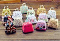 Free ship!1lot=10pc! New model come! Handbags tin / mini candy Iron box / creative wedding Favor gift Boxes