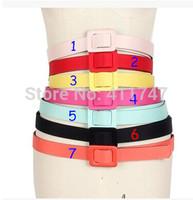 3cm Width Lady's Candy Slender Waist Belts for 50s Vintage Dress
