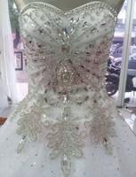 free shipping 2014 new super flash luxury palace wind super flash crystal diamond show thin belt lace trailing wedding dresses