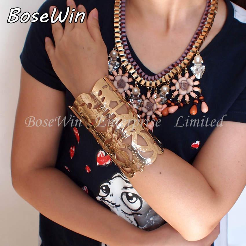 2014 New Indian Jewelry Intaglio Pattern Fashion Accessories Women Opened Cuff Bangles Bracelet Gold & Silver BL165(China (Mainland))