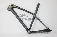 LOOK 986 E-Post MTB carbon frame Mountain bike with stem 29er frame ,free shipping.size S/M/L 26er MTB frame