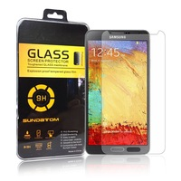free shipping 2.5D Ultra-Thin high quality screen protector Tempered Glass for Samsung Galaxy Note 3 III