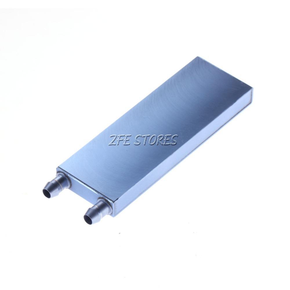 2 Pcs CPU água de resfriamento bloquear Waterblock líquido refrigerador de alumínio 122 * 41 mm W14(China (Mainland))