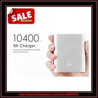 Original Xiaomi Power bank External Battery Portable Powerbank Real capacity 10400mAh Charger For xiaomi hongmi M3 mi3 mi4 phone