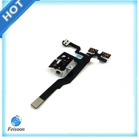 5pcs/lot Original Proximity Light Sensor Power Button Flex Cable For iPhone 4s Replacement Free Shipping