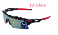 5pcs/lot 10 Colors Multi-color Sport Sunglasses Riding Glasses Cycling Bicycle Bike Eyewear 009181
