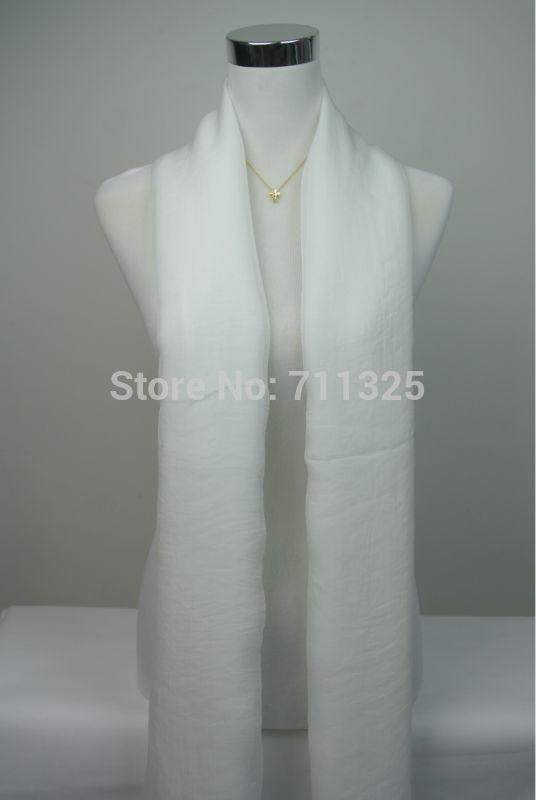 New Design Chiffon Scarf Women High Quality Gradual Solid Color Chiffon Georgette Silk Scarves Shawl Female Long Design AZ710(China (Mainland))