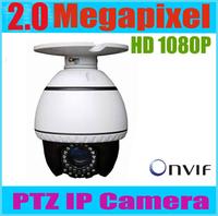 PTZ IP Camera 2 Megapixel 1920*1080P ONVIF 50m IR distance 2mp full hd 1080p mini ip camera ptz 10x optica zoom camera