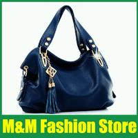 2014 new summer handbag models in Europe and America, Ms. portable shoulder bag diagonal casual big bag   Free Shipping