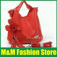 2014 Korean version of the new female flowers fringed bag laptop bag large shoulder bag diagonal handbags | Free Shipping 158