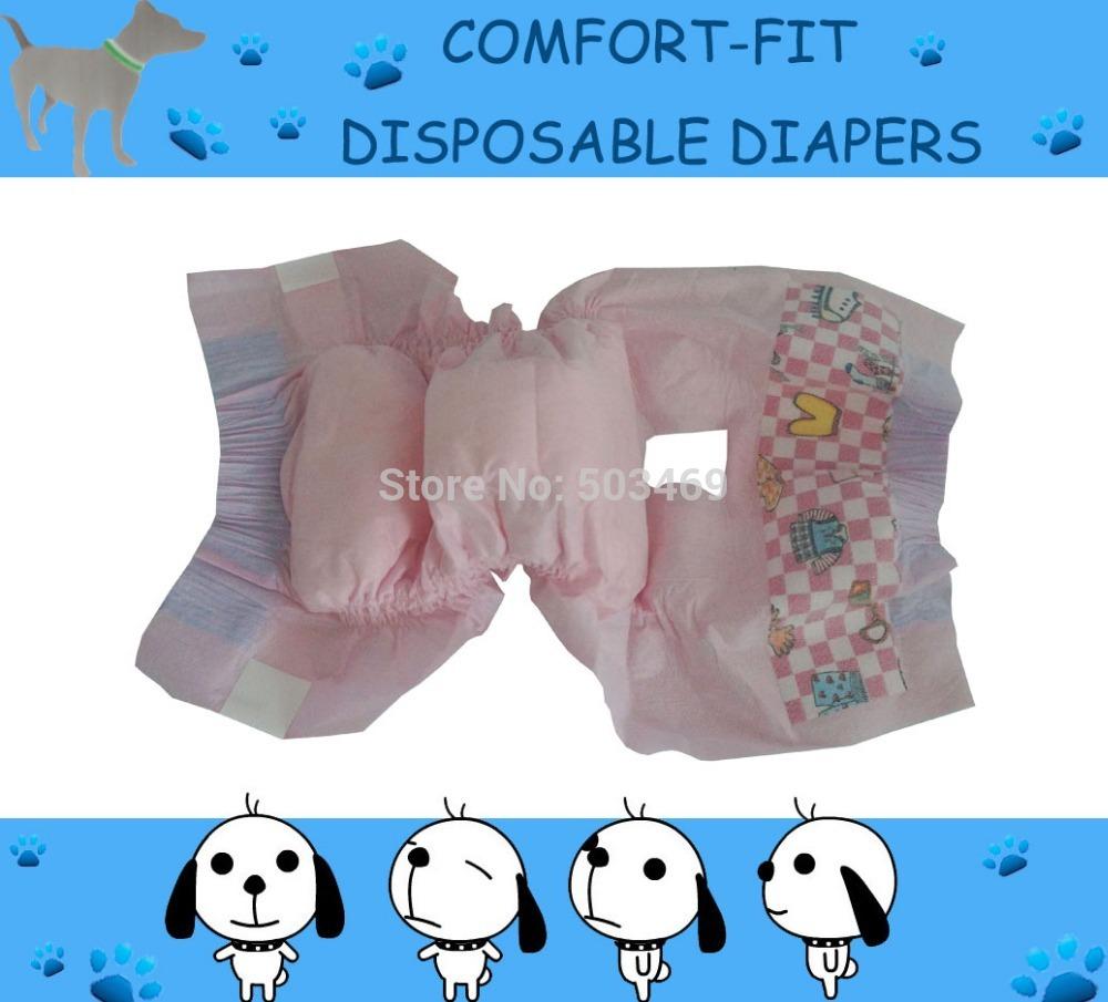 Free shipping + XXS Disposable Male Dog Wraps(China (Mainland))