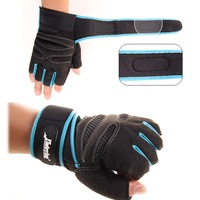 Hot Anti-skid Half Mitt Fitness Gloves Wrist Wrap Weightlifting Workout Multifunction Exercise Training Gym Gloves