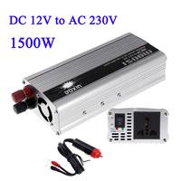 1500W WATT DC 12V to AC 230V Portable Car Power Inverter Charger Voltage Converter 12V To 230V Transformer