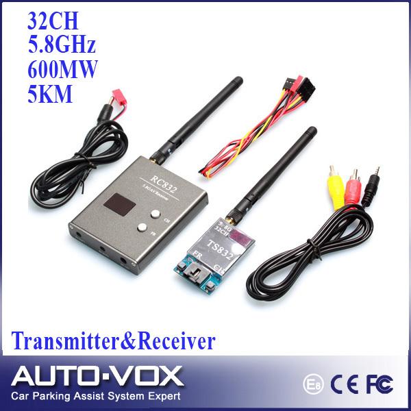 Запчасти и Аксессуары для радиоуправляемых игрушек Auto-vox Boscam FPV 5.8g 5,8 600 32 /V TS832 + RC832 Tx & Rx 5 WTF-TR832A запчасти и аксессуары для радиоуправляемых игрушек boscam rpsma fpv aviao antennas
