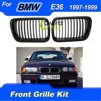 New Black M3 Look Front Grille Kidney for BMW 97-99 E36 318i 325i 328i