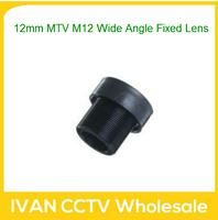 Surveillance Cameras Cctv Lens Varifocal 12mm Mtv M12 Wide Angle Fixed Lens