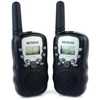 2PCS Walkie Talkie Retevis RT-388 UHF 462.5625-467.7250MHz 0.5W 22CH For Kid Children LCD Display Flashlight VOX A7027A