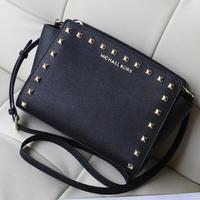 women handbags of famous brands 2014 100% real leather womens handbags hot sale promotion women messenger bags