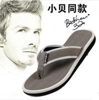 New 2014 Summer Men Casual Flat Sandals,Bakham Leisure Soft Flip Flops,EVA Massage Beach Slipper Shoes For Men Size 41-45