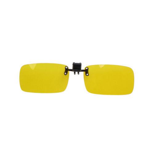 4 Color polarized flip up sunglasses clip Day vision eyewear eye glasses for driving fishing care myopia eyes(China (Mainland))