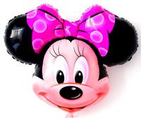 (10pcs) Mickey and Minnie cartoon birthday balloons decoration free shipping Q3259