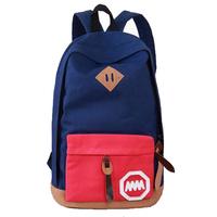 2014 fashionable children school bags canvas packpack For School Preppy Style Travel Bag Men & women  Backpack B012