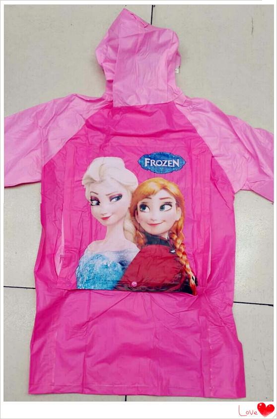 Бесплатная доставка эльза и анна принцесса мультфильм дети плащ мультфильм цвет