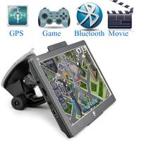 7 inch GPS Bluetooth FM DDR128MB 800*480 car gps MTK MS2531 800MHZ Navitel 8.5 2014 Maps Russia Ukraine USA EURO