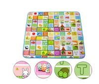 1pcs Children aluminum eco-friendly baby crawling pad Small baby toys mat eva foam game pad (200*180) P5602