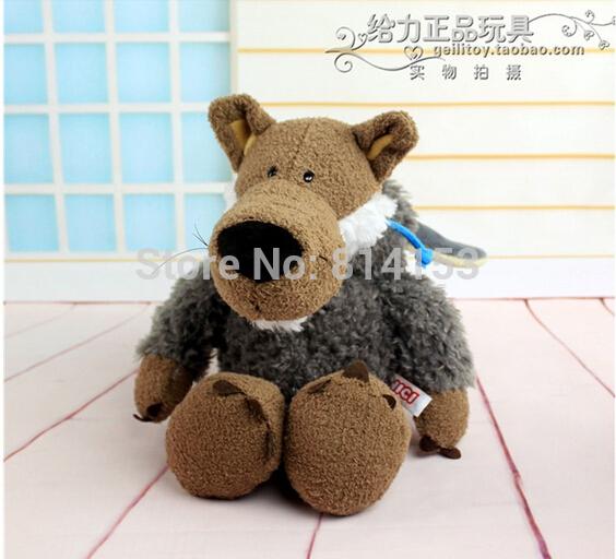 Free Shipping NICI wolf in sheeps plush toy stuffed wolf plush animal dolls for children(China (Mainland))
