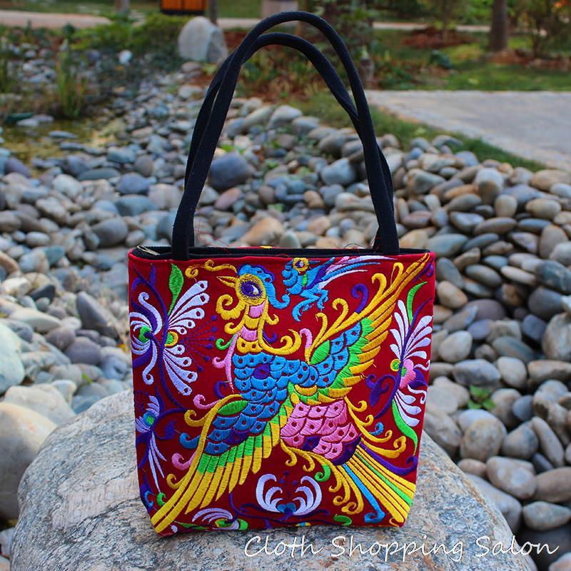 Chinese Phoenix Embroidered Shoulder Bag 30