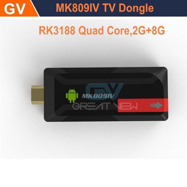 NEW MINI PC MK809IV Andriod 4.2+2GB/8GB Quad-core RK3188+HDMI OUTPUT(TV)+3D Movie Play+Mobile phone DLNA+1080P XBMC+Somatic Game(China (Mainland))