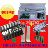 Free Shipping  Riff Box JTAG Box+JPIN 20 IN 1 unlock and repair for  Samsung 100% original one