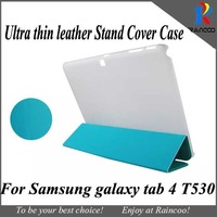 """Brand New for Samsung galaxy tab 4 T530 Super slim High Quality PU leather case,Stylish PU Leather cover for samsung t530 10.1"""""""