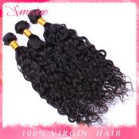Peruvian Virgin Hair Natural Wave 4 pcs Lot Mixed Length 8-30 inch Peruvian Virgin Water Wave Hair Wet and Wavy Hair Free Ship