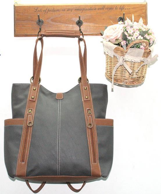 Сумка через плечо Canvas bags woman shoulder bag 4 PU