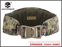 EMERSON MOLLE Padded Molle Waist Belt Men Airsoft Combat Military Army belt AOR2 EM9086B