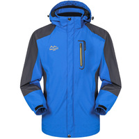 2014 men's spring clothing outdoors male outdoor jacket outerwear windproof waterproof camping hunting hiking clothing