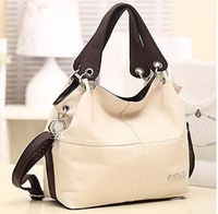 Hotsale Hot Promotion 2014 Retro Vintage Women's Leather Handbag Tote Trendy Shoulder Bags Messenger Bag Cross body bags Bolsas
