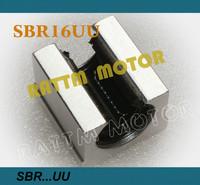 Free shipping 4PCS SBR16UU SBR16 16mm Linear Ball Bearing Block CNC Router