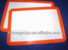 21 * 29.5 cm platina Silicone Dough Mat fibra de vidro reforçada antiaderente pode colocar o forno ferramentas massas panelas grátis frete(China (Mainland))
