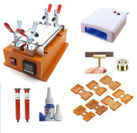 New 7inch LCD Screen Separator, Touch Screen Separator, Glass Separator+UV Lamp+LOCA UV Glue+8 Moulds+Cutting Line Full Set